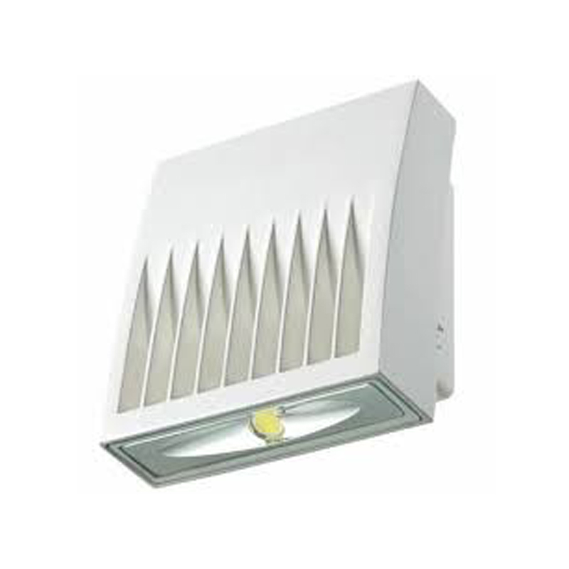 COOPER Wallpack LED 20W, 1361Lms, 120-277V, 5000K, luz día,housing color blanco