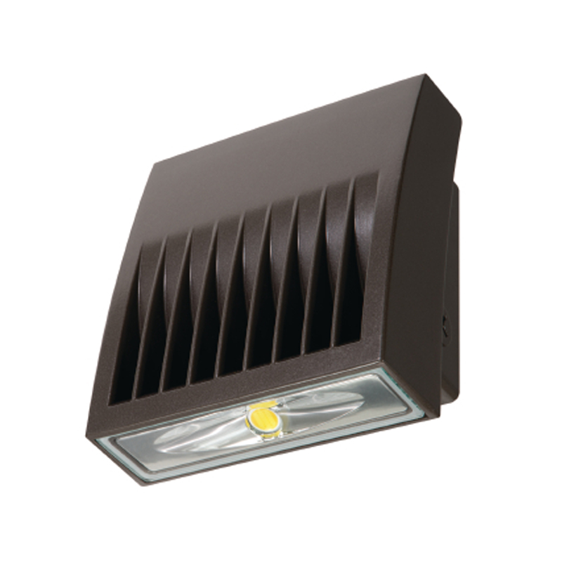 COOPER Luminaria LED Wallpack 20W, 1361Lms, 120-277V, 5000K, luz blanca, housing café