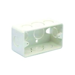 "[CAN.04.004] Caja rectangular PVC 2""x4"""